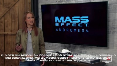 Mass Effect: Andromeda - Интервью GameSpot с Майклом Гэмблом