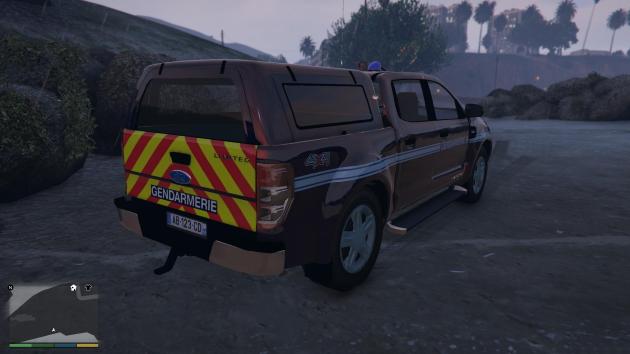 FORD RANGER Gendarmerie