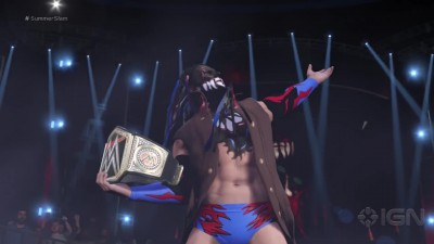 WWE 2K17 - Finn Balor s Full Ring Entrance