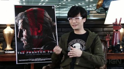 "Metal Gear Solid 5: The Phantom Pain ""Интервью с Hideo Kojima"""