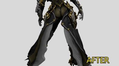 Разработчики Warframe улучшили пятую точку персонажа Mesa
