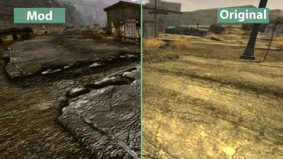 "Fallout: New Vegas ""Новое детальное сравнение на PC - Maximum Overgrowth Graphics DEAD Version vs. Vanilla"""