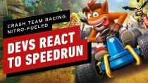 Реакция разработчиков Crash Team Racing Nitro-Fueled на спидран своей игры за 47 минут