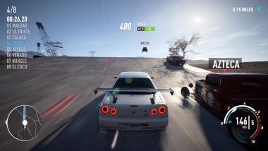 Нoвый гeймплeй Need for Speed Payback вeрсии для PC