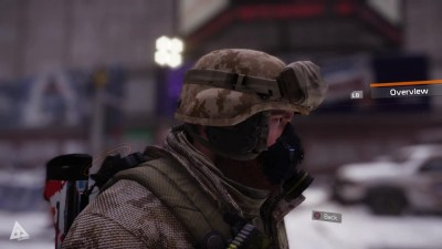 "Tom Clancy's The Division ""Демонстрация Military Forces cosmetic pack"""