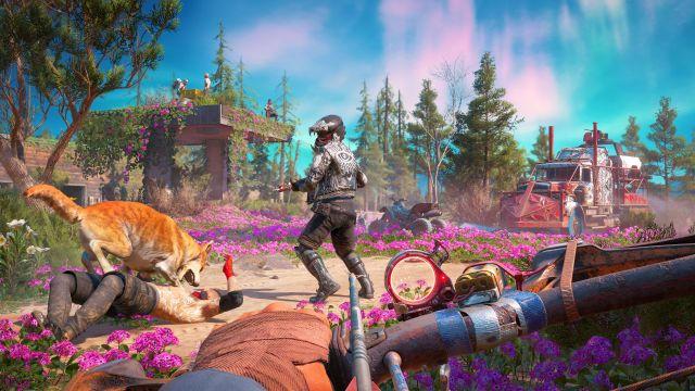 Подробности мира Far Cry: New Dawn