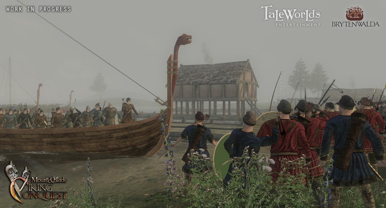 Mount and blade мод на викингов скачать