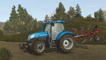 Трактор New Holland T7