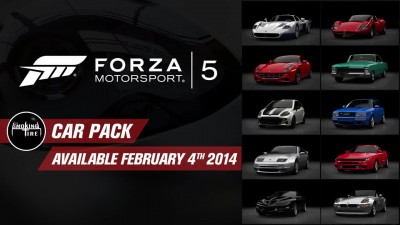 "Forza Motorsport 5 ""Трейлер набора Smoking Tire Car Pack"""