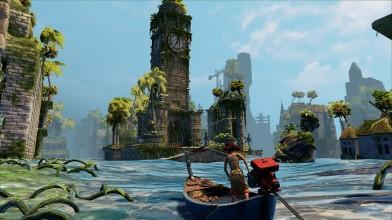 Красочное приключение Submerged выйдет на PlayStation 4