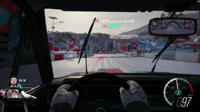 Новый раритет нагибатель International Scout 800A - Forza Horizon 3 на руле Fanatec CSL Elite Wheel