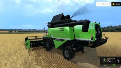 """Видео обзор мода комбайна """"Deutz Fahr 6095 HTS v 1.3"""" для игры Farming Simulator 15"""