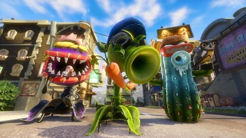 Геймплей-трейлер Plants vs. Zombies: Garden Warfare 2