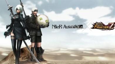 Красавица 2B из NieR: Automata пробралась в Monster Hunter, но есть нюанс