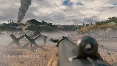 """Enlisted E3 2018: геймплей на карте """"Вторжение в Нормандию / Высадка на пляже"""""""