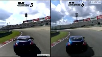 Сравнение Gran Turismo 5 vs. GT6 demo: Nissan 370Z - Grand Valey