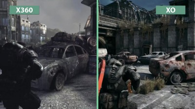 "Gears of War ""Cравнение Original vs. Ultimate Edition"""