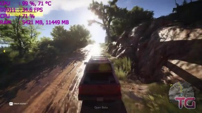 Tom Clancy's Ghost Recon Wildlands Beta : GTX 1060 - i5 6600k
