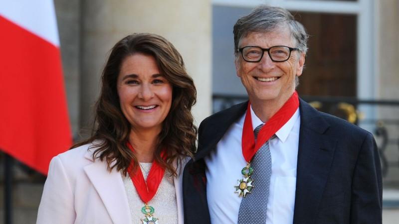 Билл Гейтс с женой Меделиной