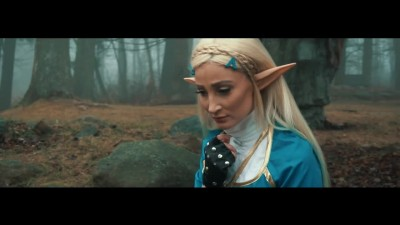 The Legend Of Zelda Breath Of The Wild - косплей