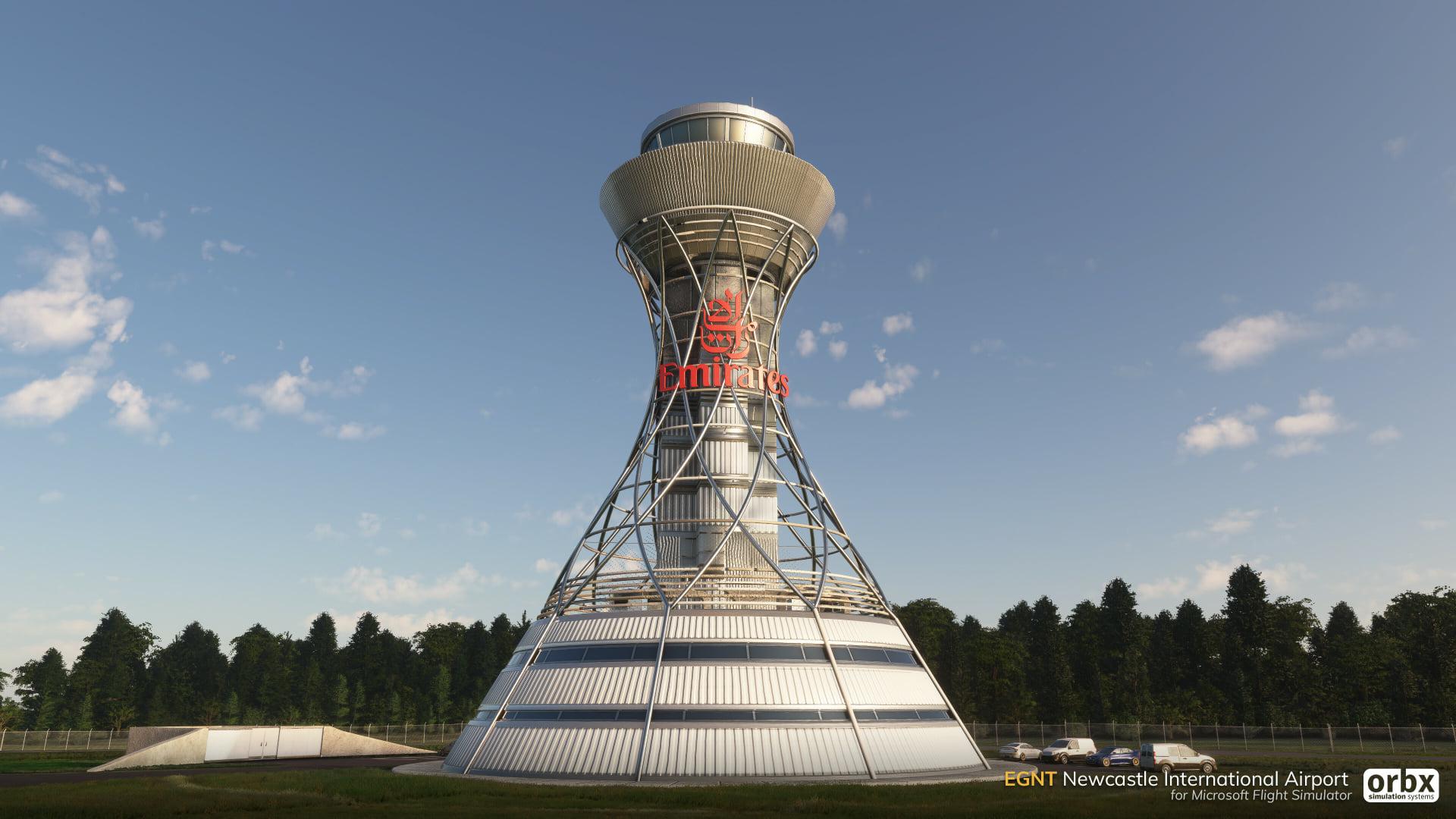Надстройка аэропорта Ньюкасла от Orbx для Microsoft Flight Simulator