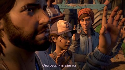 РЕАЛЬНАЯ ЖЕСТЬ- The Walking Dead - A New Frontier (Ep.4)