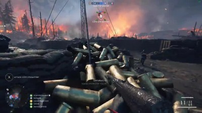 Еще 10 минут геймплея дополнения Battlefield 1:They Shall Not Pass Review