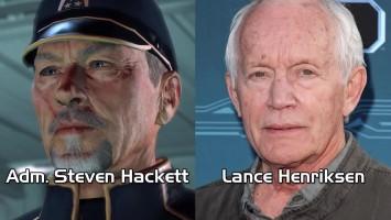 Актёры - актрисы озвучки Mass Effect 3.