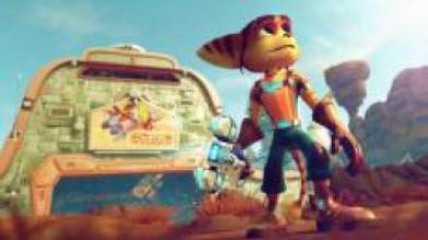 Ratchet & Clank - самая красивая игра на PS4