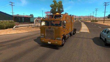 "American Truck Simulator ""KENWORTH K100 LONG"""