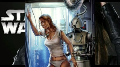 TOP5 самых сексуальных девушек в Звездных Войнах (Темная Сторона Силы)