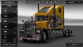 "ETS 2 ""Freightliner Classic XL"" (1.24)"