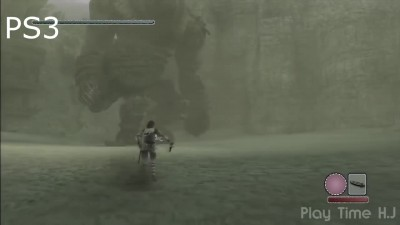 "Shadow of the colossus ""Сравнение графики - PS2 vs. PS3 vs. PS4"""