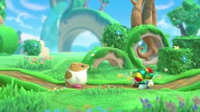 DLC для Kirby Star Allies - Рик, Кайн и Ку (Nintendo Switch)