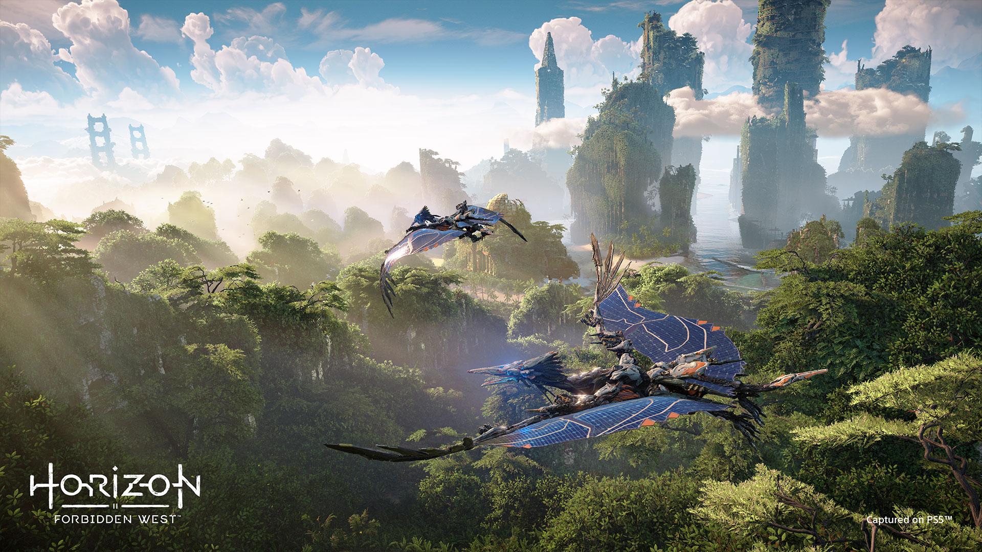 Horizon: Forbidden West предложит для изучения Сан-Франциско и Йосемитскую долину