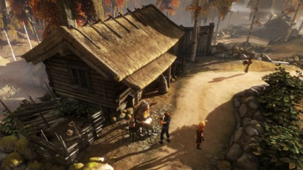 Трейлер к выходу Brothers: A Tale of Two Sons для консолей PS4 и Xbox One