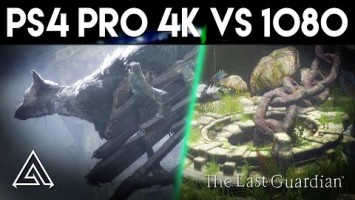 Сравнение The Last Guardian - PS4 vs PS4 Pro