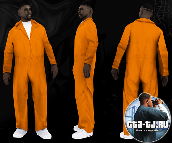 Black Prisoner GTA SA