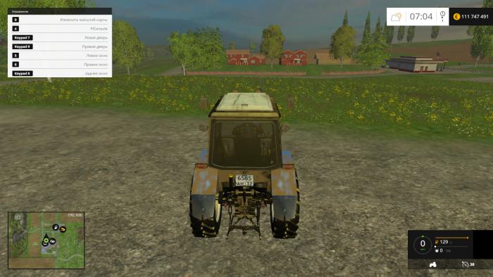 Панель приборов на трактор МТЗ 82 - YouTube