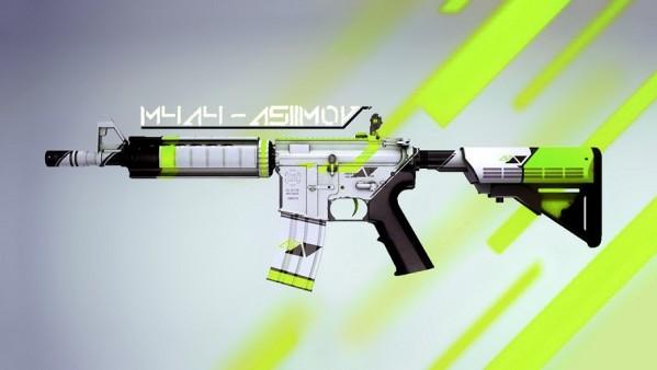 Counter strike source m4a1 asimov из counter strike go