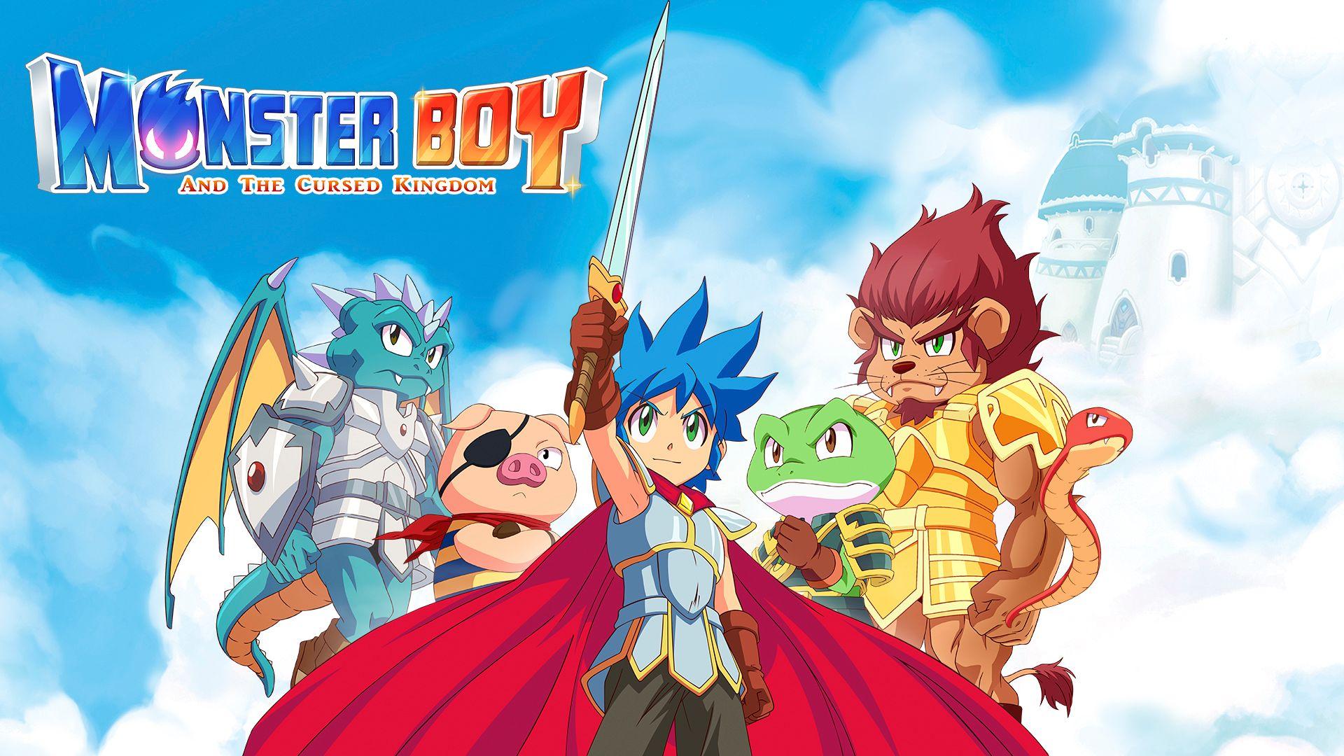 Вышла демо-версия Monster Boy and the Cursed Kingdom