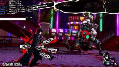Persona 5 на PS3 Emulator RPCS3 0.05