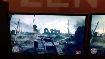 AMD Ryzen 7 1800X vs. Intel i7-6800K Battlefield 1 с Titan X SLI