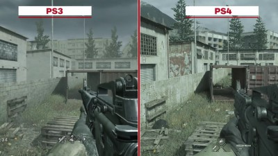 Call of Duty 4: Modern Warfare Multiplayer Сравнение графики: PS3 vs. PS4 (IGN)