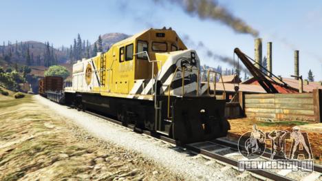 Инженер железной дороги v3.1 для GTA 5