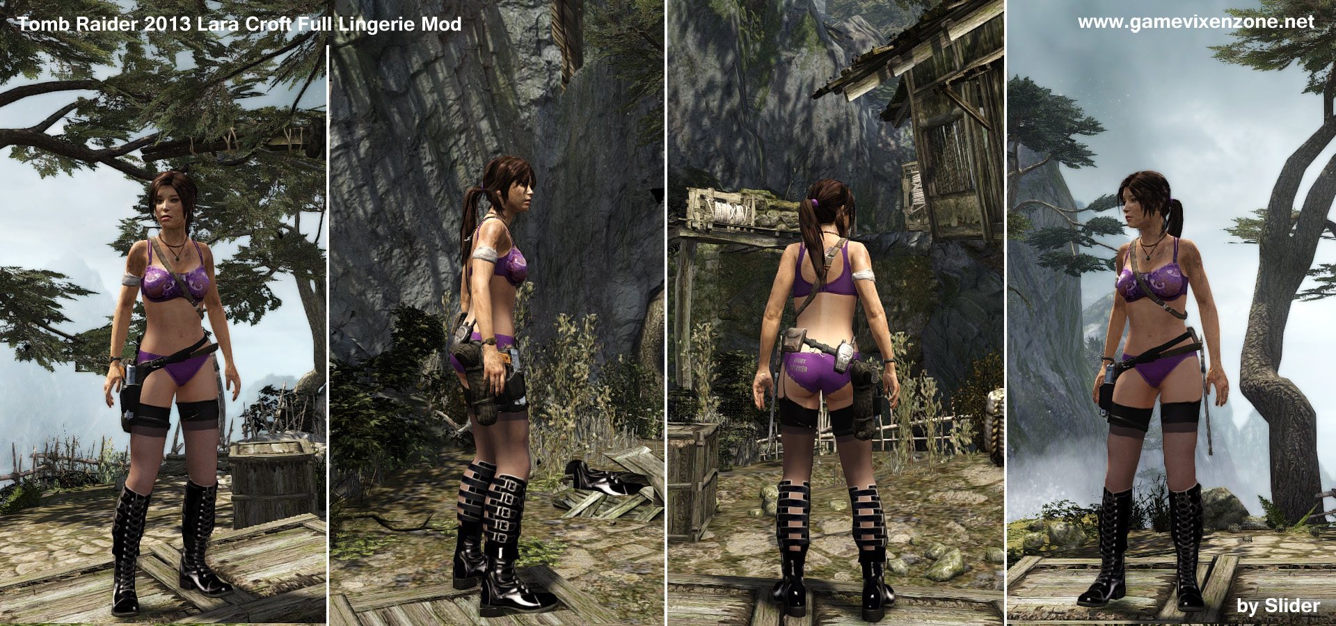 Tomb raider anniversary mod naked videos