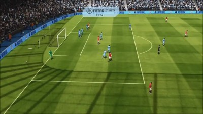 "FIFA 16 ""Геймплей Xbox360/PS3 Manchester City vs Manchester United Match BPL"""
