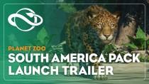 Состоялся релиз дополнения Южная Америка для Planet Zoo