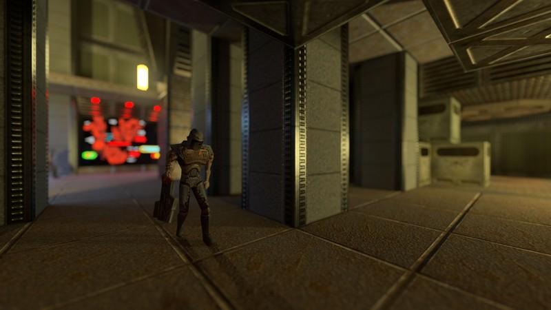 Здесь и далее — скриншоты из фоторежима Quake II RTX.