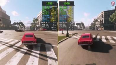 Сравнение Mafia 3 GTX 1050 Ti vs. GTX 1060